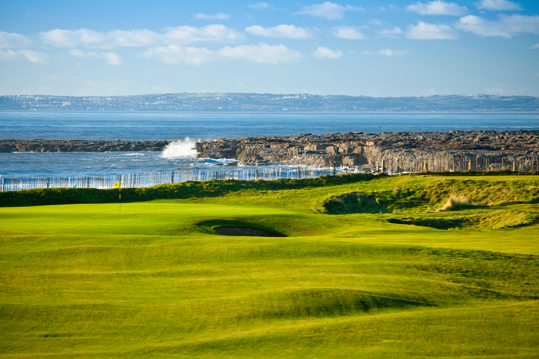 Overview of golf course named Royal Porthcawl Golf Club