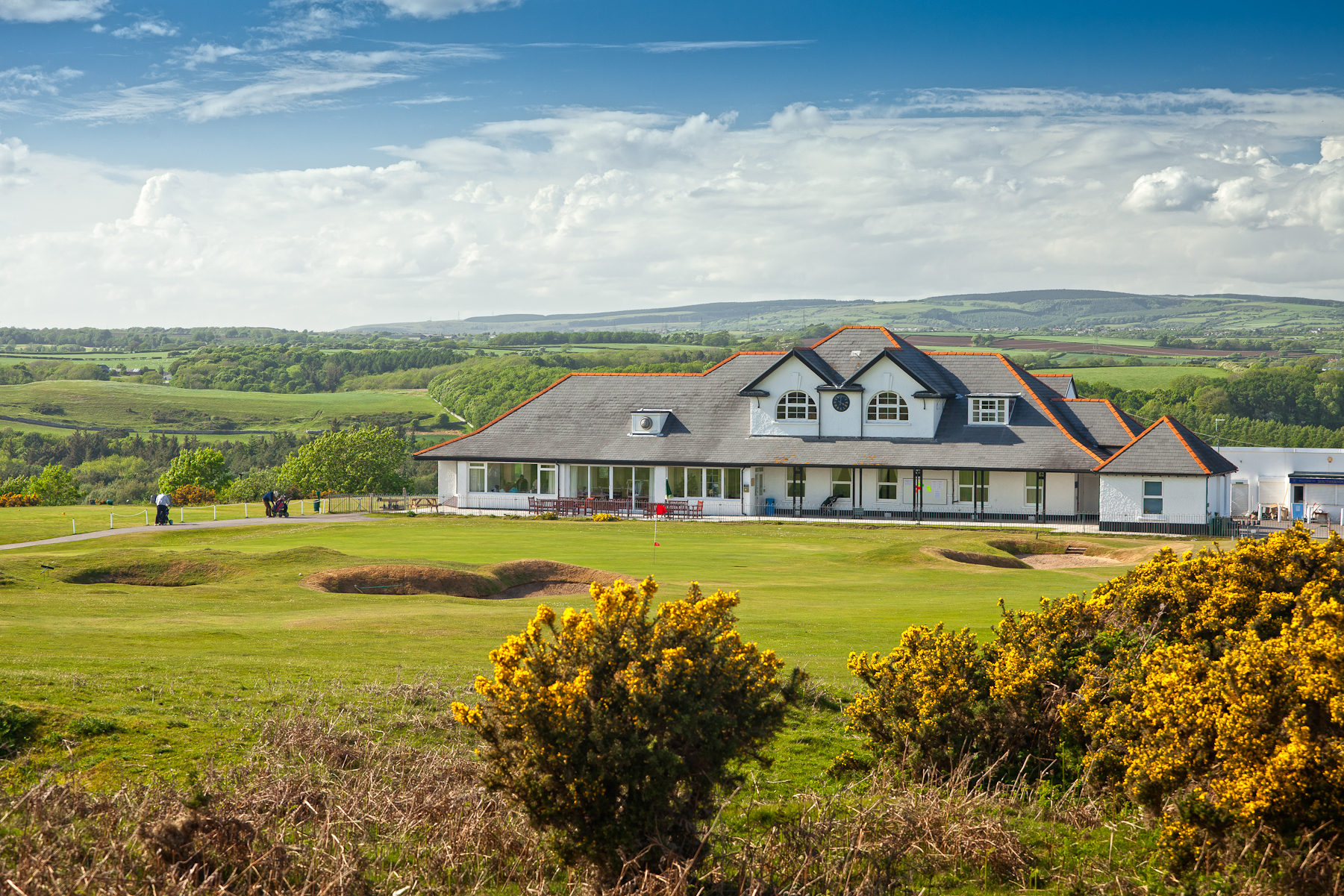 Overview of golf course named Southerndown Golf Club