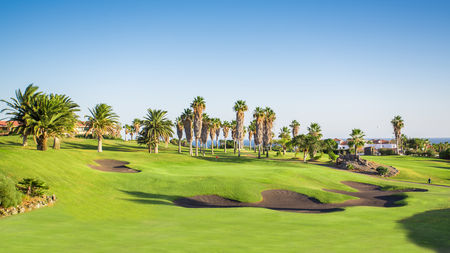 Overview of golf course named Golf Del Sur