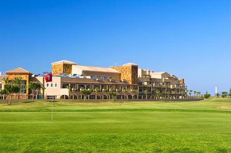 Overview of golf course named Barcelo Costa Ballena Golf and Spa