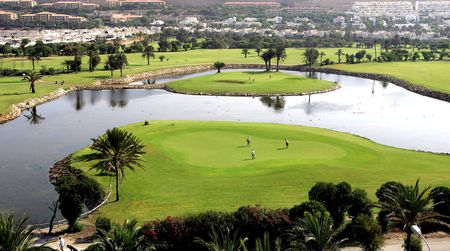 Overview of golf course named Golf Almerimar