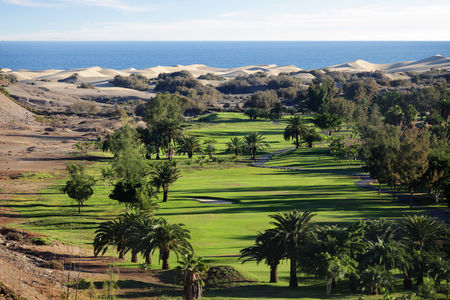 Overview of golf course named Maspalomas Golf