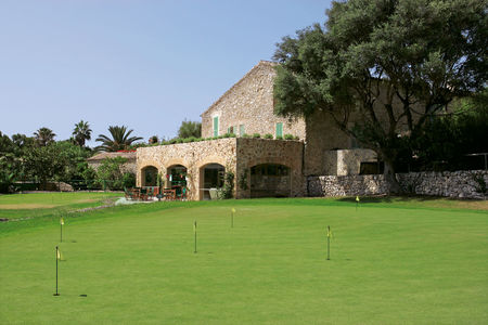 Overview of golf course named Pula Golf Resort