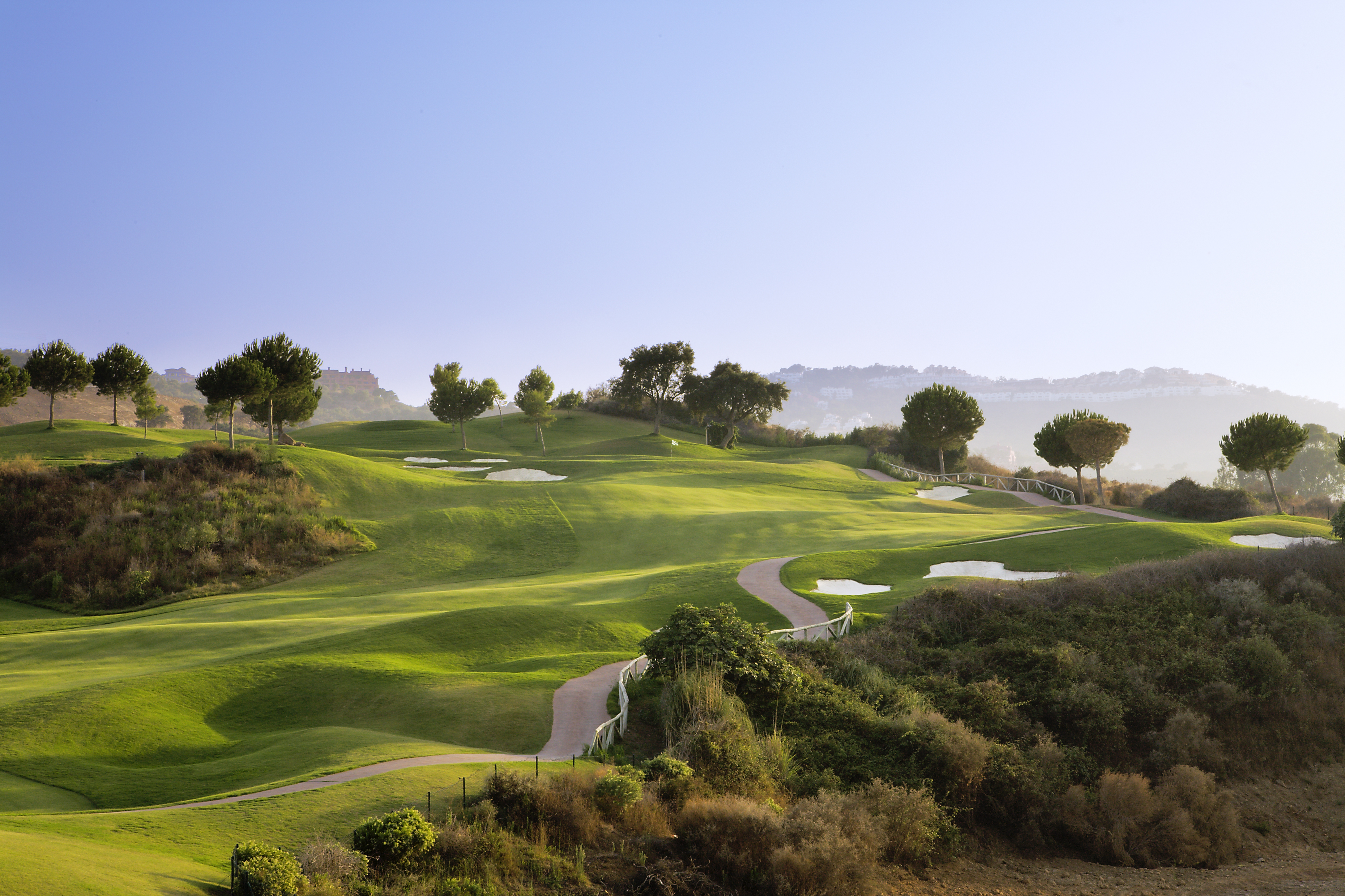 Overview of golf course named La Cala Resort