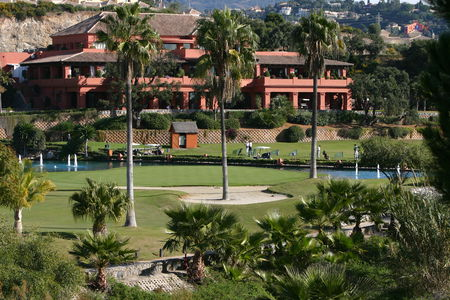 Overview of golf course named Cabopino Golf Marbella