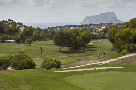 Overview of golf course named Club de Golf Ifach