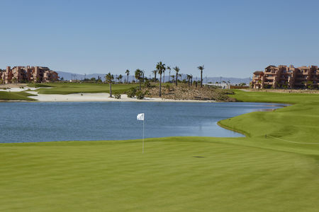 Overview of golf course named Mar Menor Golf