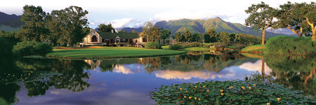 Overview of golf course named Montagu at Fancourt