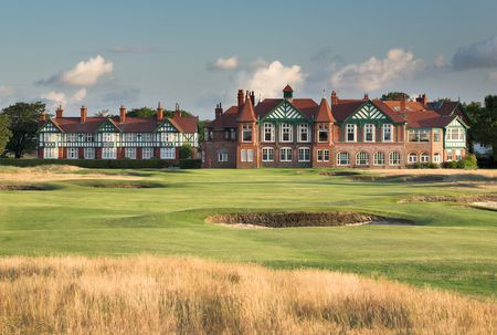 Overview of golf course named Royal Lytham & Saint Annes Golf Club