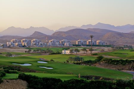 Overview of golf course named Muscat Hills Golf and Country Club