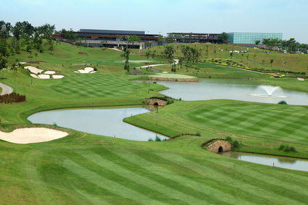 Overview of golf course named Kota Permai Golf and Country Club