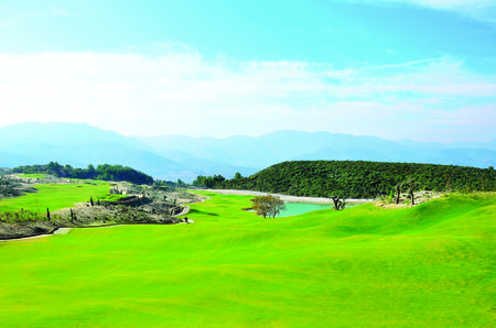 Kusadasi international golf cover picture