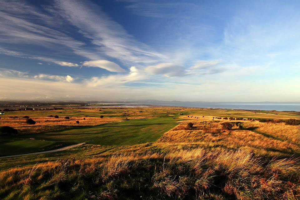 Gullane golf club cover picture