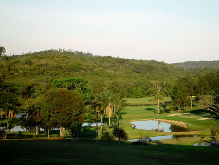 Overview of golf course named Guarapiranga Golf and Country Club