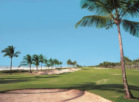 Overview of golf course named Comandatuba Ocean Course