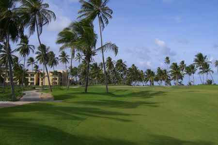 Overview of golf course named Iberostar Praia Do Forte Golf Club