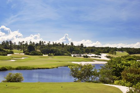 Overview of golf course named Costa Do Sauipe Golf Links