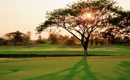 Overview of golf course named Angkor Golf Resort