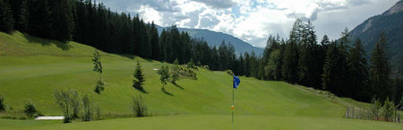 Overview of golf course named Golf Club Alvaneu Bad