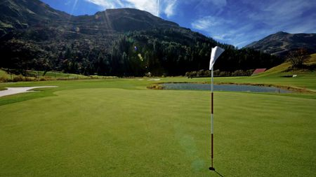 Overview of golf course named Golfclub Andermatt Realp