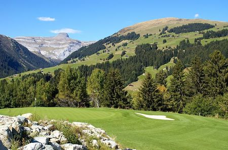 Overview of golf course named Golf Club Brigels