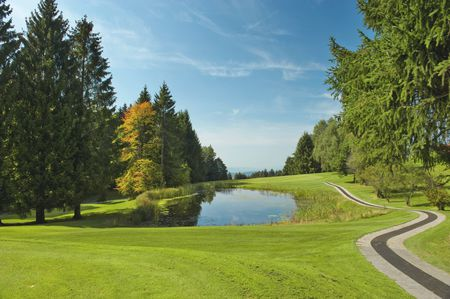 Overview of golf course named Golf and Country Club Hittnau-Zurich