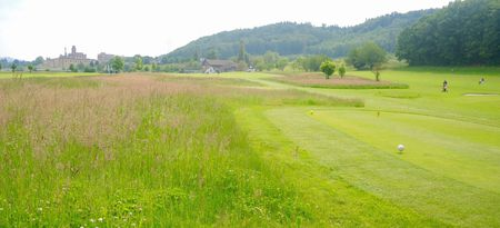 Overview of golf course named Golf Club Rheinfelden