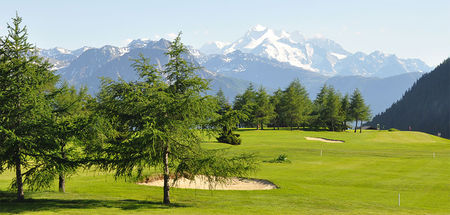Overview of golf course named Riederalp Golf Club