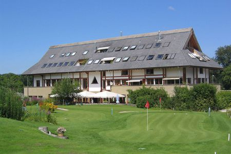Overview of golf course named Thunersee Golf Club