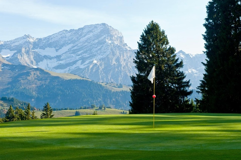 Overview of golf course named Golf Club Villars