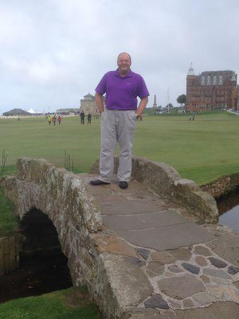 Avatar of golfer named David Laing