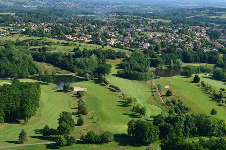 Overview of golf course named Salvagny Golf Club