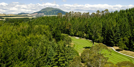 Overview of golf course named Wairakei International Golf Course
