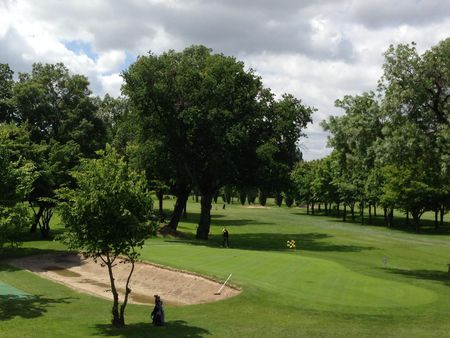 Overview of golf course named Golf de Bordeaux-Lac