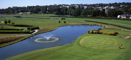 Overview of golf course named Golf Paris Country Club