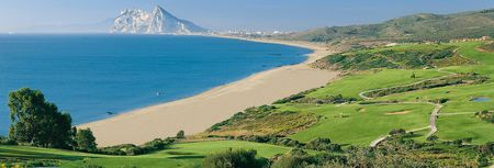 Overview of golf course named Alcaidesa Links Golf Resort