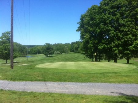 Overview of golf course named Oak Ridge Golf Club