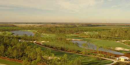 Overview of golf course named Old Corkscrew Golf Club
