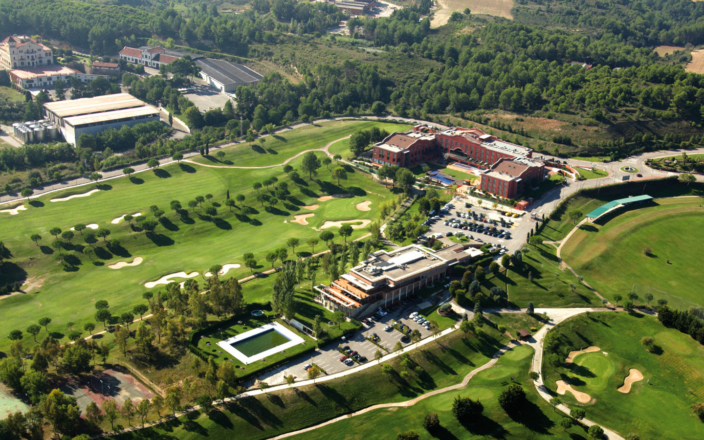 Barcelona golf and spa resort cover picture