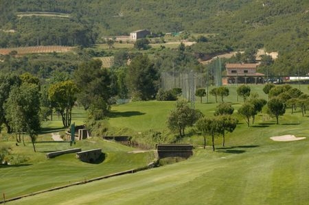 Overview of golf course named Golf La Roqueta