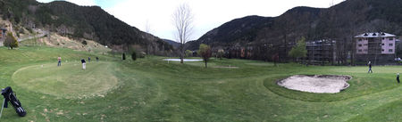 Overview of golf course named Vall d'Ordino Golf Club