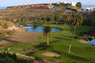 Overview of golf course named El Cortijo Club de Campo