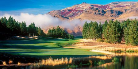 Overview of golf course named Chapelco Golf Club