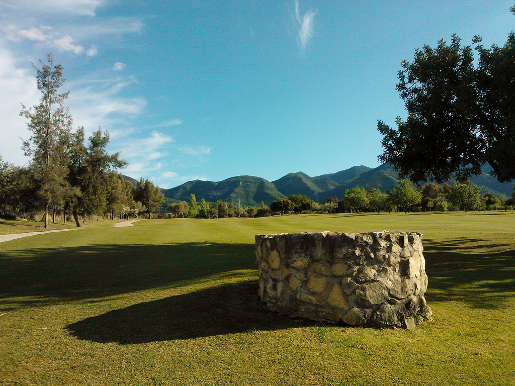 Overview of golf course named Lauro Golf Club