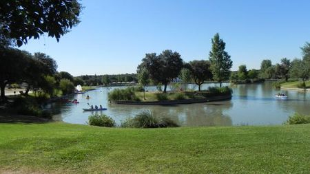 Overview of golf course named Club de Golf Las Encinas de Boadilla