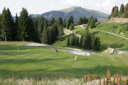 Overview of golf course named Golf Flaine Les Carroz