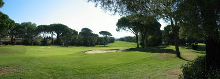 Overview of golf course named Golf de Valescure