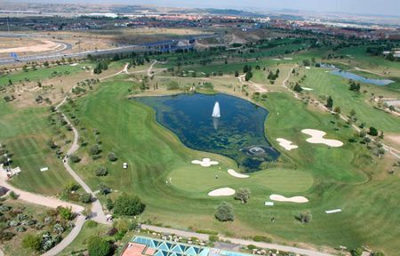 Overview of golf course named Club de Golf Olivar de La Hinojosa