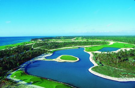 Overview of golf course named Punta Cana Resort and Club