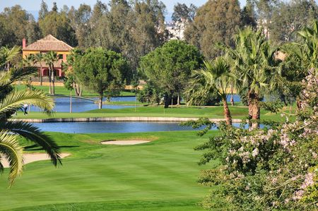 Overview of golf course named Real Club de Golf de Sevilla